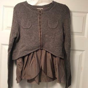 Hoss Intropia brown sweater